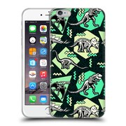 Official Chobopop Dinosaurs Neon Skeletons Soft Gel Case for Apple iPhone 6 Plus / 6s Plus