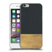Official Caitlin Workman Modern Color Blocked Gold & Cobalt Soft Gel Case for Apple iPhone 6 / 6s