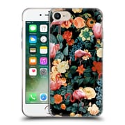 Official Burcu Korkmazyurek Birds and Floral Floral And Flamingo II Soft Gel Case for Apple iPhone 7
