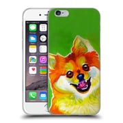 Official Dawgart Dogs 2 Pomeranian Tiger Soft Gel Case for Apple iPhone 6 / 6s