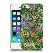 Official Celandine Tropical Pattern Stand Out Lime Soft Gel Case for Apple iPhone 5 / 5s / SE
