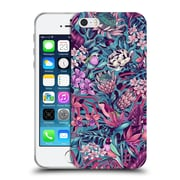 Official Celandine Tropical Pattern Stand Out Electric Blue Soft Gel Case for Apple iPhone 5 / 5s / SE