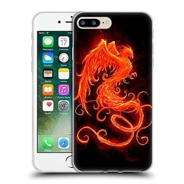 Official Christos Karapanos Phoenix On Fire Soft Gel Case for Apple iPhone 7 Plus
