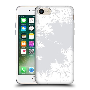 Official Caitlin Workman Organic Spring Night's Sky Grey & White Soft Gel Case for Apple iPhone 7
