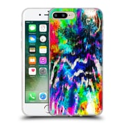 Official Caleb Troy Vivid Technicolour Zebra Soft Gel Case for Apple iPhone 7 Plus