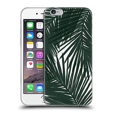 Official Caitlin Workman Organic Palms Green Soft Gel Case for Apple iPhone 6 / 6s