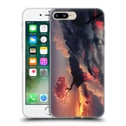 Official Daniel Conway Cherry Blossoms Scorched Earth Full Soft Gel Case for Apple iPhone 7 Plus