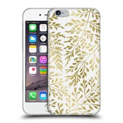 Official Caitlin Workman Organic Foliage Gold Soft Gel Case for Apple iPhone 6 / 6s