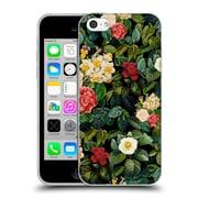 Official Burcu Korkmazyurek Floral 2 Night Forest VIII Soft Gel Case for Apple iPhone 5c