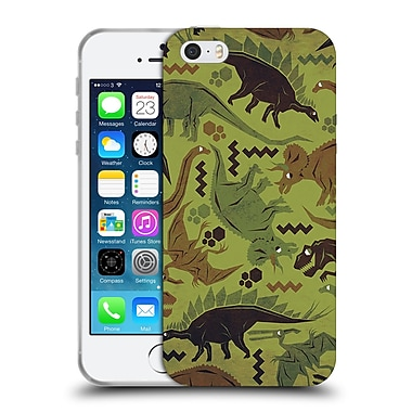 Official Chobopop Dinosaurs Camouflage Soft Gel Case for Apple iPhone 5 / 5s / SE