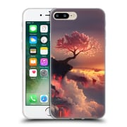 Official Daniel Conway Cherry Blossoms Scorched Earth Soft Gel Case for Apple iPhone 7 Plus