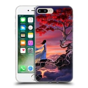 Official Daniel Conway Cherry Blossoms Sakura In The Sky Soft Gel Case for Apple iPhone 7 Plus