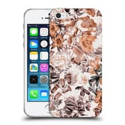 Official Burcu Korkmazyurek Floral Summer Garden Soft Gel Case for Apple iPhone 5 / 5s / SE
