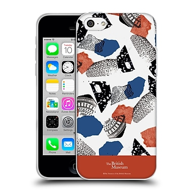 Official British Museum Community and Nurture 2 Abstract Mix Soft Gel Case for Apple iPhone 5c