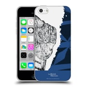 Official British Museum Community and Nurture 2 Black And Blue Print Soft Gel Case for Apple iPhone 5c