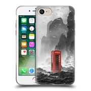 Official Daniel Conway Surreal Scenery Phonebooth Soft Gel Case for Apple iPhone 7