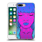 Official Daniel Conway Flower Pop Daisy Soft Gel Case for Apple iPhone 7 Plus