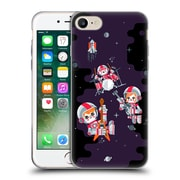 Official Chobopop Illustrations Space Rock Soft Gel Case for Apple iPhone 7