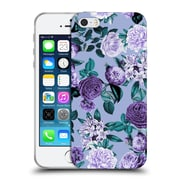 Official Burcu Korkmazyurek Floral Botanical Forest Soft Gel Case for Apple iPhone 5 / 5s / SE
