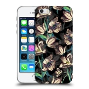 Official Burcu Korkmazyurek Floral Night Forest XIII Soft Gel Case for Apple iPhone 5 / 5s / SE