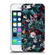 Official Burcu Korkmazyurek Floral Night Forest X Soft Gel Case for Apple iPhone 5 / 5s / SE