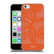 Official British Museum Community and Nurture Orange Stamps Soft Gel Case for Apple iPhone 5c