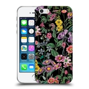 Official Burcu Korkmazyurek Floral Night Forest XIV Soft Gel Case for Apple iPhone 5 / 5s / SE