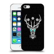 Official Chobopop Animals Silver Stag Soft Gel Case for Apple iPhone 5 / 5s / SE