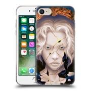 Official Daniel Conway Surreal Portraits Broken Kintsugi Soft Gel Case for Apple iPhone 7