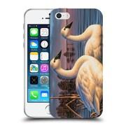 Official Chuck Black Bird Art Evening Tundras Soft Gel Case for Apple iPhone 5 / 5s / SE