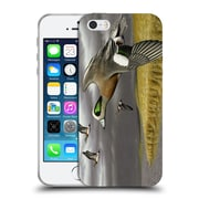 Official Chuck Black Bird Art Breaking For Cover Soft Gel Case for Apple iPhone 5 / 5s / SE