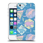 Official Chobopop Dinosaurs 90's Pastel Soft Gel Case for Apple iPhone 5 / 5s / SE
