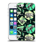 Official Chobopop Dinosaurs Neon Skeletons Soft Gel Case for Apple iPhone 5 / 5s / SE