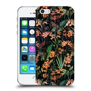 Official Burcu Korkmazyurek Floral 2 Exotic Garden Soft Gel Case for Apple iPhone 5 / 5s / SE