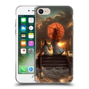 Official Daniel Conway Red Umbrella Silent Silhouette Soft Gel Case for Apple iPhone 7