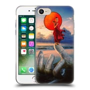 Official Daniel Conway Red Umbrella Stone Hand Soft Gel Case for Apple iPhone 7