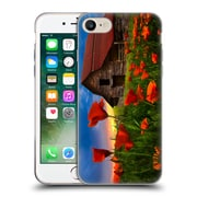Official Celebrate Life Gallery Landscape Barn In Poppies Soft Gel Case for Apple iPhone 7