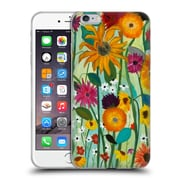 Official Carrie Schmitt Florals Sunflower House Soft Gel Case for Apple iPhone 6 Plus / 6s Plus