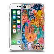 Official Carrie Schmitt Florals Exhalation Soft Gel Case for Apple iPhone 7