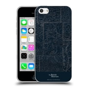 Official British Museum Adventure and Discovery Map Soft Gel Case for Apple iPhone 5c