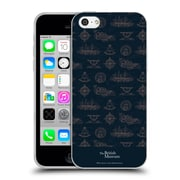 Official British Museum Adventure and Discovery Nautical Blue Soft Gel Case for Apple iPhone 5c