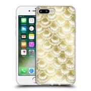 Official Caitlin Workman Modern Organic Burst Gold Soft Gel Case for Apple iPhone 7 Plus