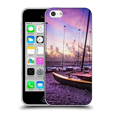 Official Celebrate Life Gallery Beaches 2 Cats At Dawn Soft Gel Case for Apple iPhone 5c