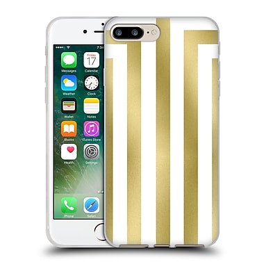 Official Caitlin Workman Modern Gold 02 Soft Gel Case for Apple iPhone 7 Plus