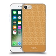 Official British Museum Decoration and Ceremony Slanted Pattern Soft Gel Case for Apple iPhone 7