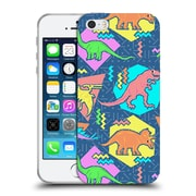 Official Chobopop Dinosaurs 90's Pattern Soft Gel Case for Apple iPhone 5 / 5s / SE
