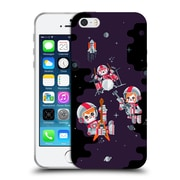 Official Chobopop Illustrations Space Rock Soft Gel Case for Apple iPhone 5 / 5s / SE