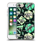 Official Chobopop Dinosaurs Neon Skeletons Soft Gel Case for Apple iPhone 7