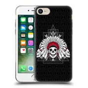Official Chobopop Illustrations Indian Skull Soft Gel Case for Apple iPhone 7