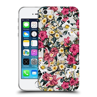 Official Burcu Korkmazyurek Floral Classic Floral II Soft Gel Case for Apple iPhone 5 / 5s / SE